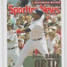 David Ortiz Designated Masher 2004 Topps Sporting News #366
