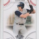 Nick Weglarz Trading Card Single 2008 Donruss Threads #60 Indians