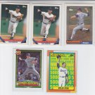 Nolan Ryan 26 Card Lot with dupes from the 90s Score Pacific Topps Donruss *ED