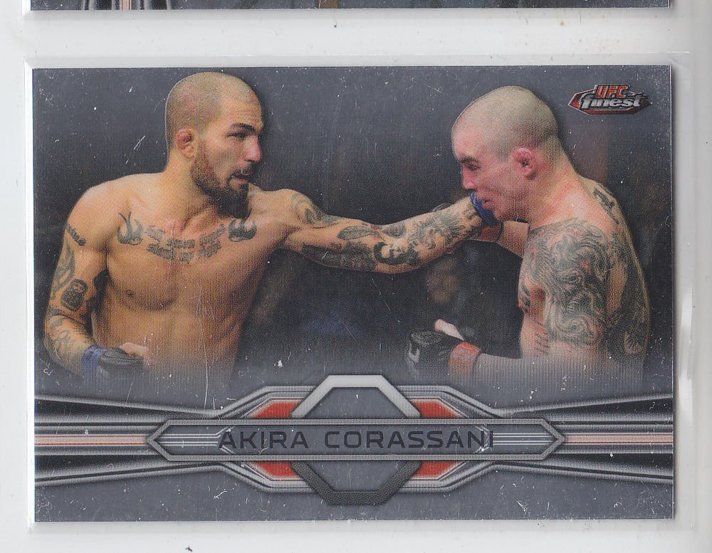 Akira Corassani Trading Card Single 2013 Topps UFC Finest #17