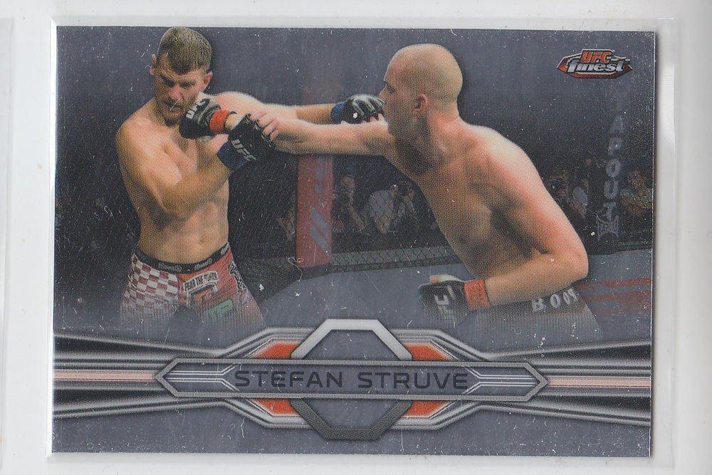 Stefan Struve Trading Card Single 2013 Topps UFC Finest 85