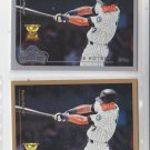 Mark Kotsay Trading Card Lot of (2) 1999 Topps #91 & Opeing Day #51 Marlins