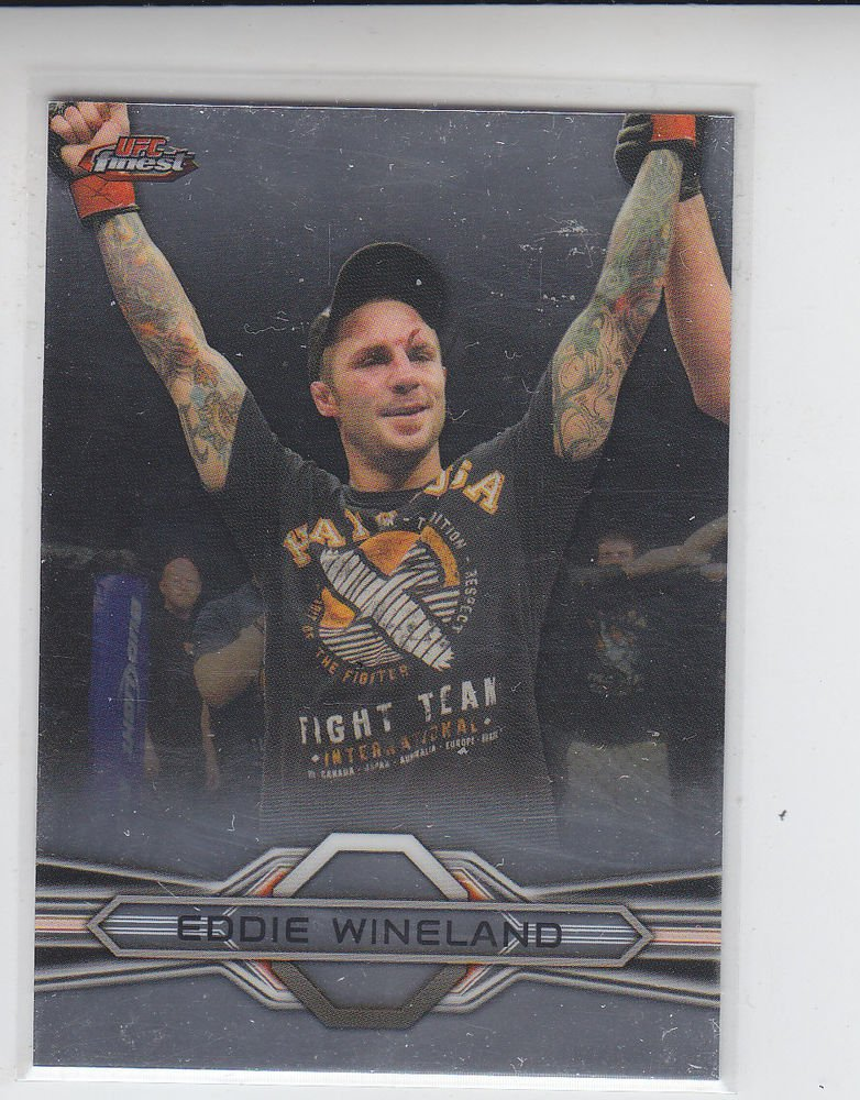 Eddie Wineland Trading Card Single 2013 Topps UFC Finest #94