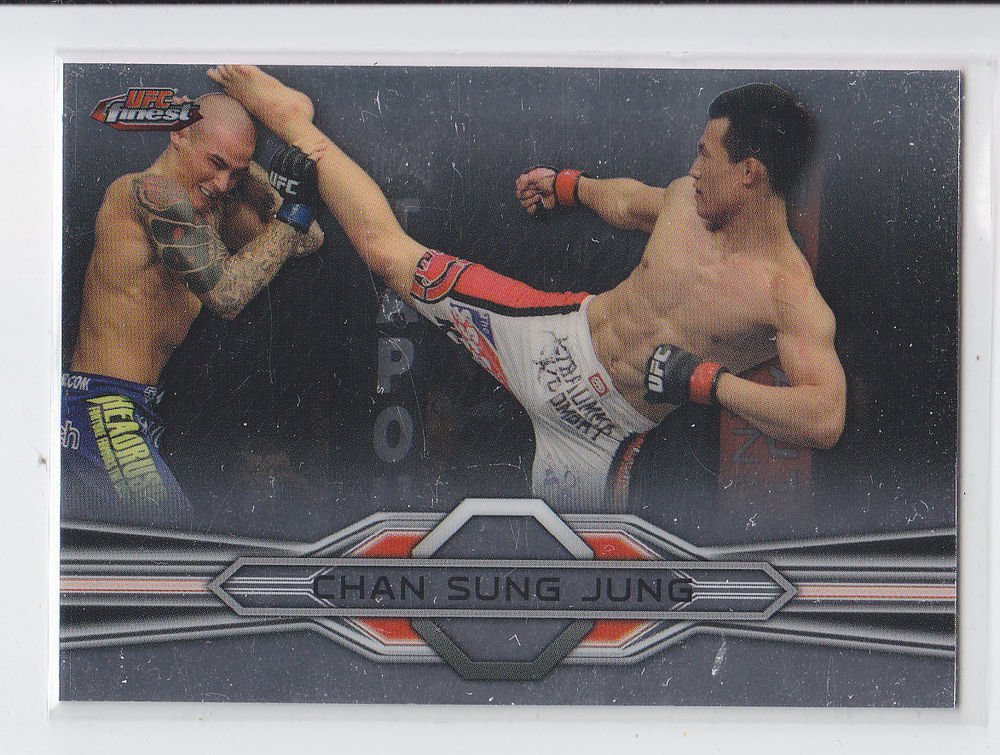 Chan Sung Jung Trading Card Single 2013 Topps UFC Finest #70