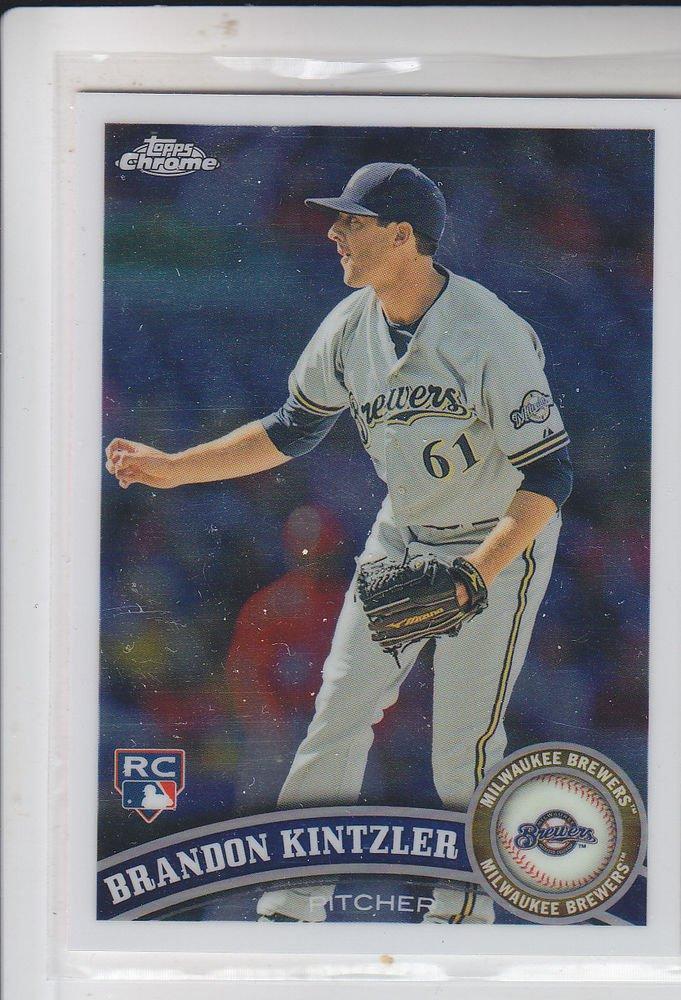Brandon Kintzler RC Trading Card Single 2011 Topps Chrome #206 Brewers