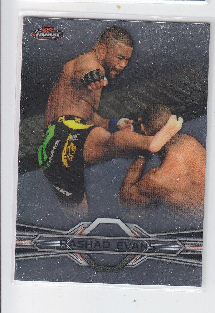 Rashad Evans  Trading Card Single 2013 Topps UFC Finest #97
