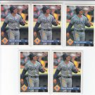 Greg Jefferies Trading Card Lot of (5) 1993 Donruss #307 Royals