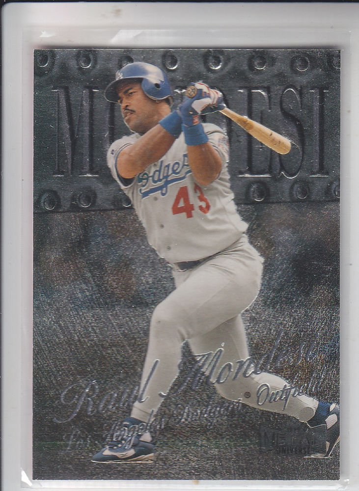 Raul Mondesi Trading Card Single 1999 Skybox Metal Universe #167 Dodgers