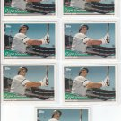 Ozzie Guillen Trading Card Lot of (7) 1994 Topps #5 White Sox