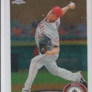 Jered Weaver Trading Card Single 2011 Topps Chrome #164 Angels