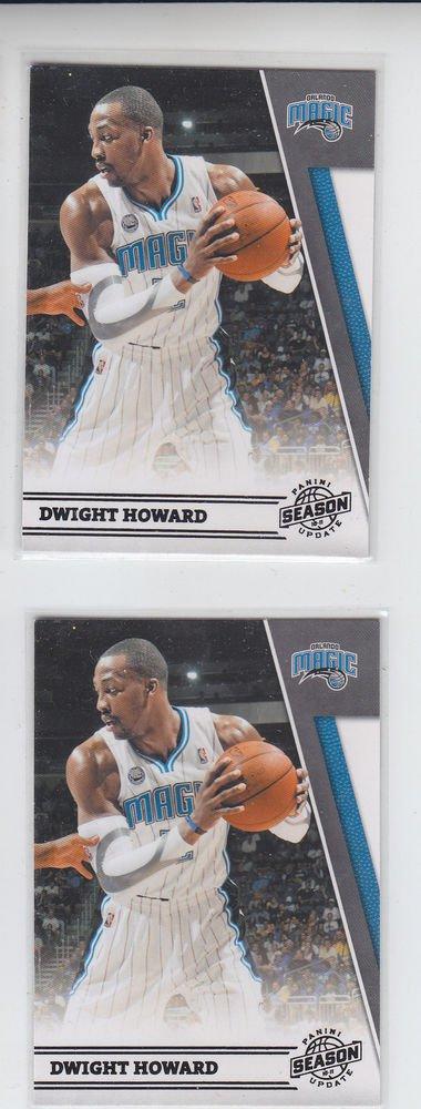 Dwight Howard Lot of (2) 2011-12 Panini Season Update #97 Magic
