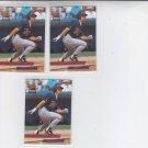 JT Bruett Trading Card Lot of (3) 1993 Fleer Ultra #229 Twins