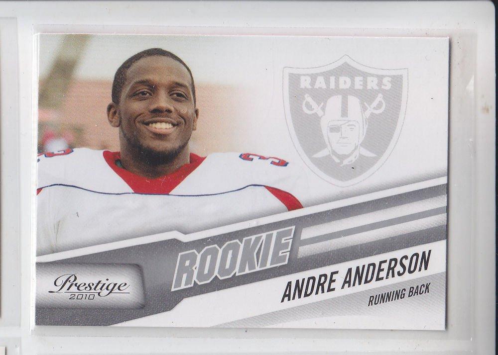 Andre Anderson RC Trading Card Single 2010 Panini Prestige #202 Raiders
