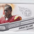 Damian Williams RC Trading Card Single 2010 Panini Certified #225 Titans