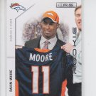 Rahim Moore RC Trading Card Single 2011 Panini Prestige #229 Broncos