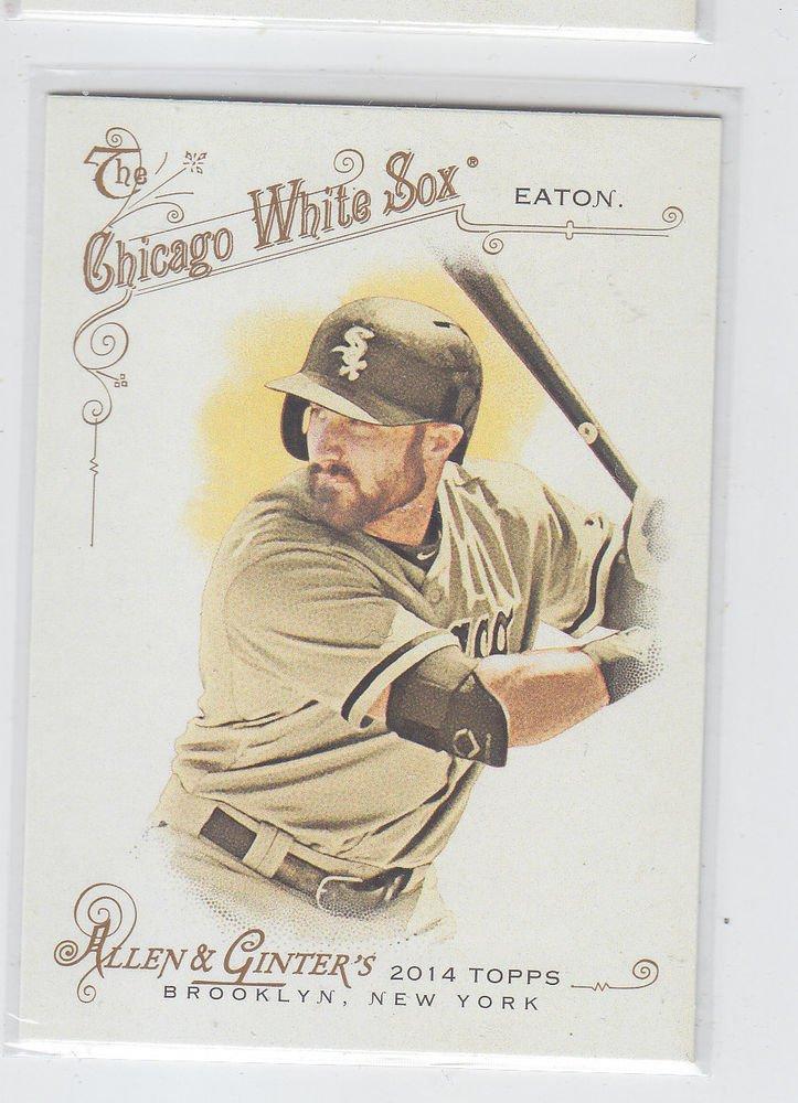 Adam Eaton Trading Card Single 2014 Topps Allen & Ginter #221 White Sox