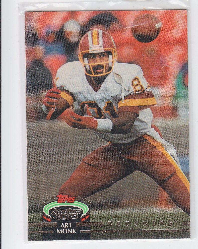 Art Monk Trading Card Single 1993 Stadium Club #244 Redskins