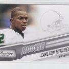 Carlton Mitchell RC Trading Card Single 2010 Panini Certified #217 Browns