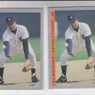 Lou Whitaker Trading Card Lot of (2) 1993 Fleer #614 Tigers