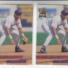 Benjie Gil RC Trading Card Lot of (2) 1993 Fleer Ultra #628 Rangers