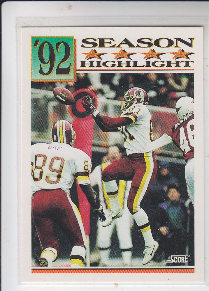 Art Monk Trading Card Single 1992 Score #433 Redskins