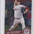 Roy Halladay Trading Card Single 2011 Topps Chrome #75 Phillies