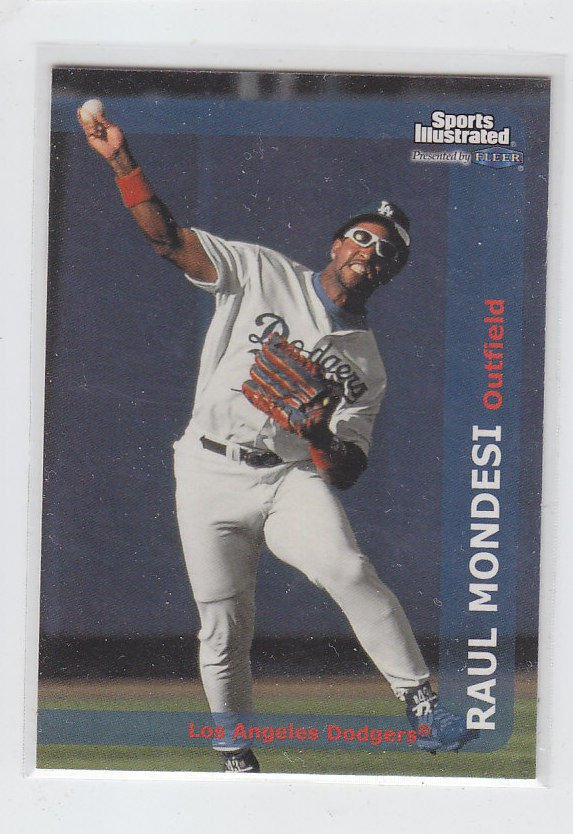 Raul Mondesi Trading Card Single 1999 Fleer Sports Illustrated #81 Dodgers