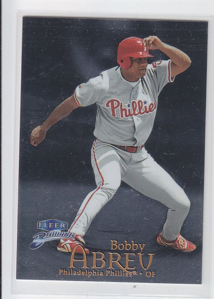 Bobby Abreu Trading Card Single 1999 Fleer Briliants #63 Phillies
