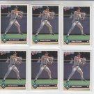 Omar Vizquel Trading Card Lot of (6) 1993 Donruss #25 Mariners