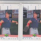 Brian Giles Trading Card Lot of (2) 1992 Classic/Best #38 Indians