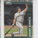 Jeromy Burnitz Trading Card Single 1999 Fleer Sports Illustrated #101 Brewers