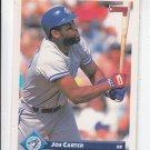 Joe Carter Trading Card Single 1993 Donruss #615 Blue Jays