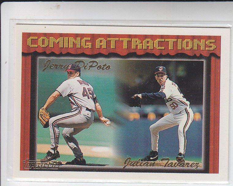 Oscar Munoz Danny Hocking RC Gold Trading Card 1994 Topps #771 Twins