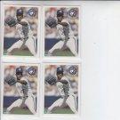 Juan Guzman Trading Card Lot of (4) 1994 Fleer #333 Blue Jays