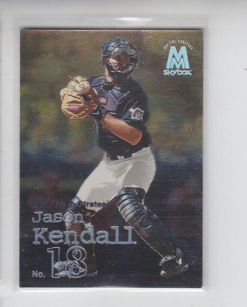 Jason Kendall Trading Card Single 1999 Skybox Molten Metal #14 Pirates