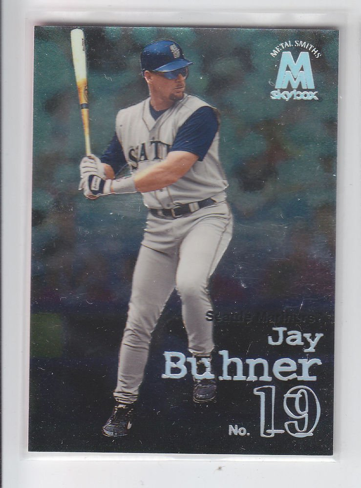Jay Buhner Trading Card Single 1999 Skybox Molten Metal #73 Mariners