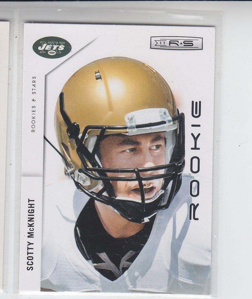 Scotty McKnight RC Trading Card Single 2011 Panini Rookies & Stars #239 Jets