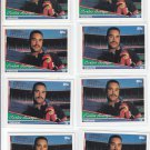 Carlos Baerga Trading Card Lot of (8) 1994 Topps #450 Indians