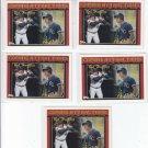 Joe Vitello Bob Hamelin Trading Card Lot of (5) 1994 Topps #769 Royals