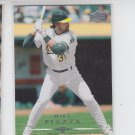 Mike Piazza Trading Card Single 2008 Upper Deck #26 Athletics