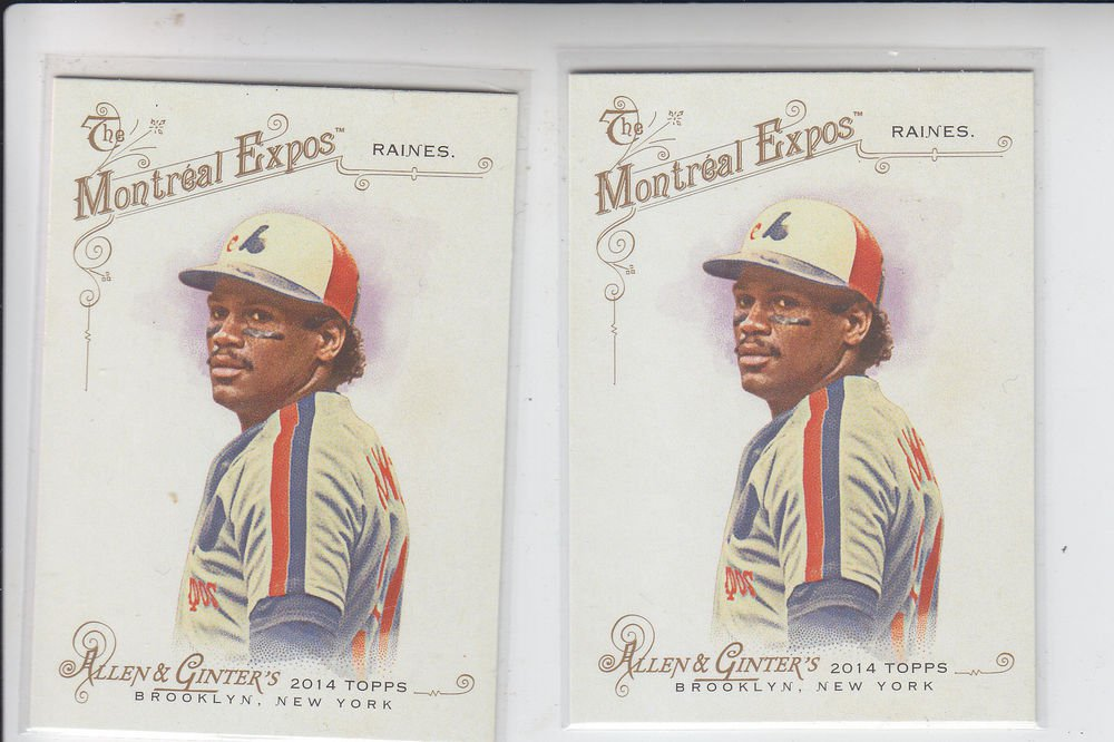 Tim Raines Trading Card Single 2014 Topps Allen & Ginter #272 Expos