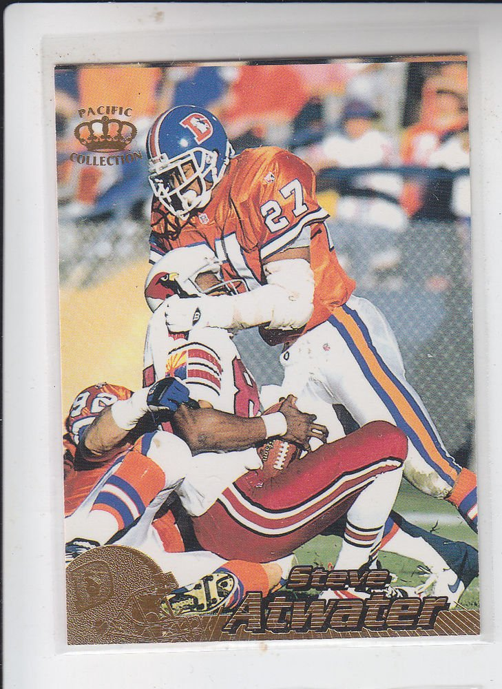 Steve Atwater Trading Card Single 1996 Pacific Collection #126 Broncos