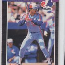 Louis Rivera Trading Card Single  1989 Donruss #578 Expos DP UER - Wrong B/Date