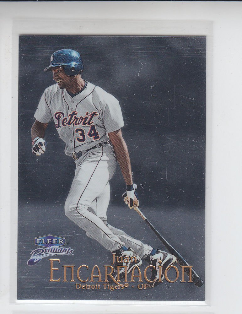 Juan Encarnacion Trading Card Single 1999 Fleer Briliants #68 Tigers
