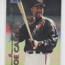 Joe Carter Trading Card Single 1999 Fleer Tradition #107 Giants