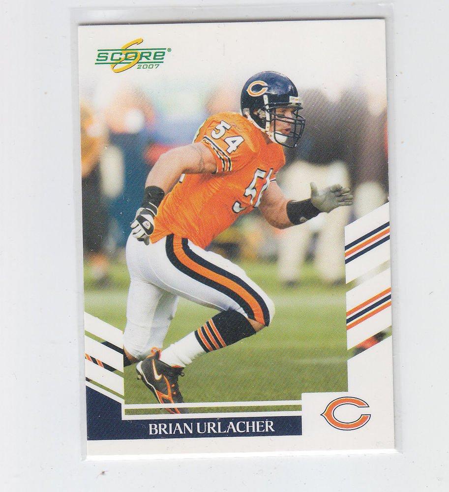 Brian Urlacher Trading Card Single 2007 Score #44 Bears