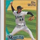Leo Nunez Gold Parallel SP 2010 Topps #246 Marlins 1832/2010