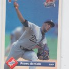 Pedro Astacio Trading Card Single 1993 Donruss Rated Rookie RC #407 Dodgers