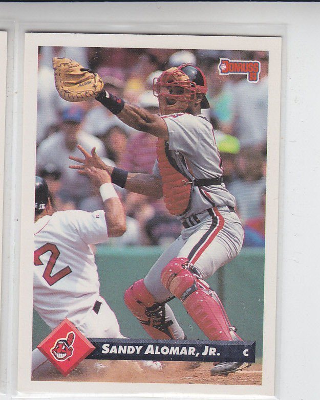Sandy Alomar Jr Trading Card Single 1993 Donruss #39 Indians