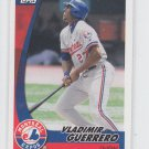 Vladimir Guerrero Trading Card Single 2002 Topps Post Cereal #20 Expos